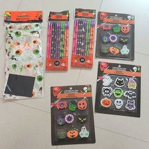 5 FOR $25 Halloween pencils and erasers